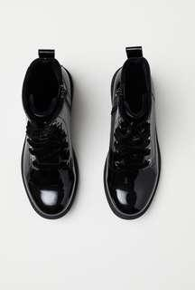 NEW H&M Girl High Top Boots || Shoes sz 35