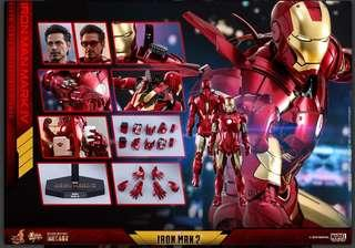 MMS462D22 Iron Man Mark IV DC