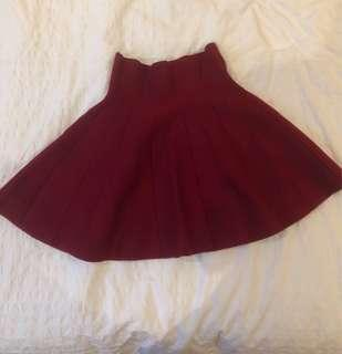 Brand new A line mini skirt size 6-10