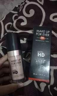 Makeup for ever hd foundation