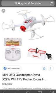 SYMA-GO X22W Drones for beginners