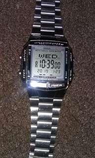 Jam tangan casio digital wanita asli ori