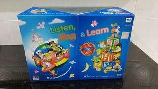 Kids Listen, Sing & Learn DVD set