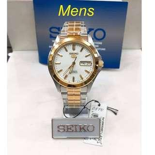 Seiko Authentic Watches for Men ♡