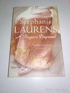 Stephanie Laurens. Scandal's Bride & A Rogue's Proposal. Please read description. New old stock in good condition. Priced to clear