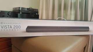全新未拆封Wharfedale藍芽無線Sound bar Vista 200