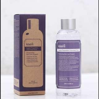 Klairs Supple Preparation Facial Toner 50 ml