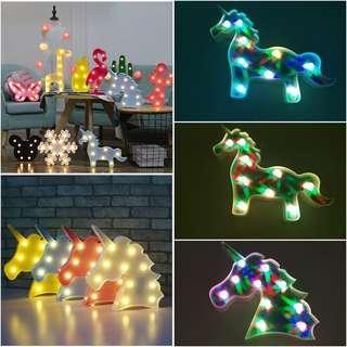 Stylish Decorative LED Night Light Decor [CR0031]
