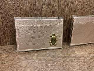 🚚 ROSE GOLD CARD CASES (BNIB)