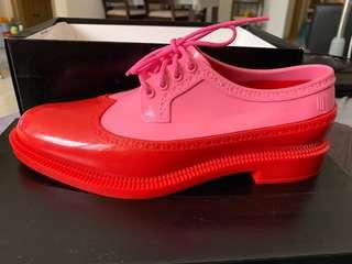 Melissa Classic Brogue Pink/Red