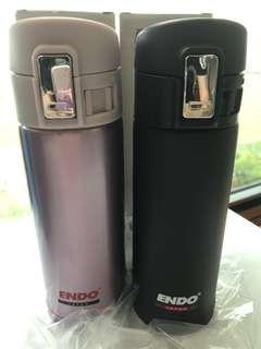 Endo Japan Double Stainless Steel Vacuum Mug