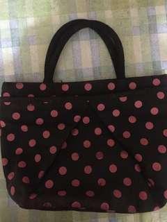 Polka dots bag