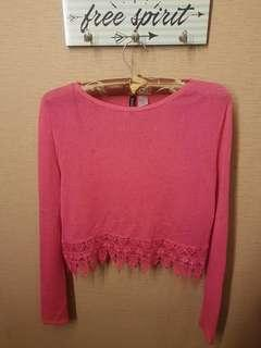 H&m woll semi sweater