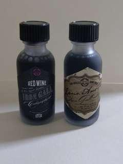 Fox & Quills Iron Gall Inks (Red Wine & Jane Austen)