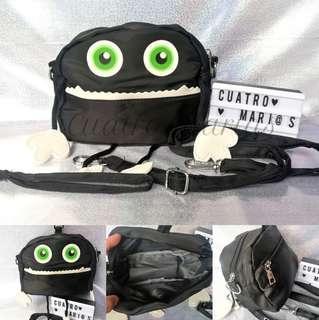 Cute monster two way bag