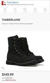 Timberland teddy fleece waterproof boots