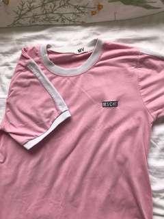 💞 pink mschf shirt 💞