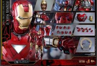MMS378D17 Iron Man Mark VI