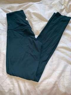 Lululemon Align Pants - Forest Green - Size 2 CAN