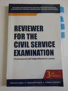 Civil Sercixe Exam Reviewer (3rd Ed)