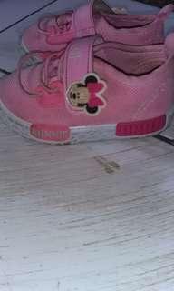 Sepatu bayi minimouse ori asli