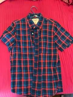 Abercrombie & Fitch short sleeve shirt (pre-loved)