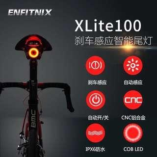 Smart Bicycle Tail Light with Auto ON/OFF and Braking Sensor