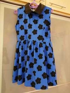 Blue Color Dress