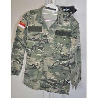 PDL TNI ARMY CAMO Set