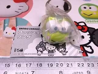 Takara Tomy A.R.T.S Sanrio Fashion Ring 扭蛋: Keroppi 青蛙仔