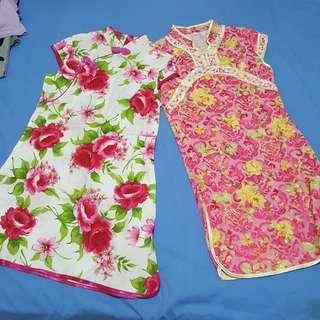 2 baju anak cheongsam baru + ongkir