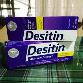 2pcs - DESITIN MAXIMUM STRENGTH