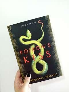 [Hardcover] Poison's Kiss by Breeana Shields