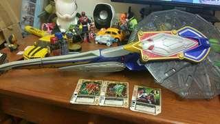 DX Blay Rouzer Kamen Rider Blade