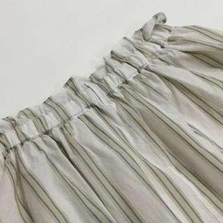 [免費free] vintage style striped skirt 直間條紋短裙