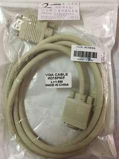 VGA 15公對15母訊號延長線