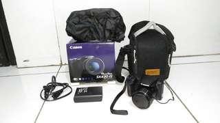 Kamera Camera Canon Power Shot SX430 IS Mulus Komplit Banyak Bonus
