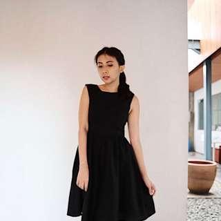 POMELO Black Dress