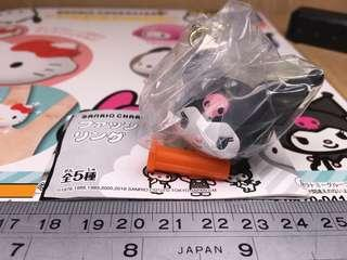 Takara Tomy A.R.T.S Sanrio Fashion Ring 扭蛋: Kuromi