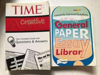 Alevel GP Essay Library and Time Creative Analysis