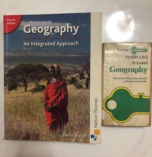 Geography Alevels (Textbook and Guidebook) - Bundle