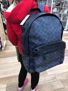 Coach bagpack for mens