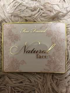 Too Faced Natural Face Pallete