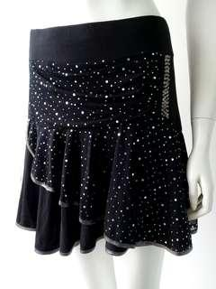 Black Skirt with Sequins #CNY888