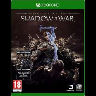 🚚 Xbox One Middle Earth Shadow of War Digital Download Game Code