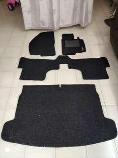 VW Scirocco Mesh floor mat including Boot mat