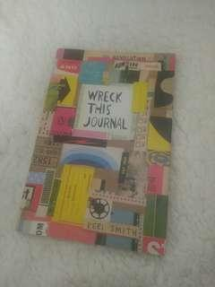 Wreck this Journal, colored edition