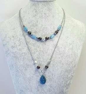 Astrud Beaded Layer Necklace