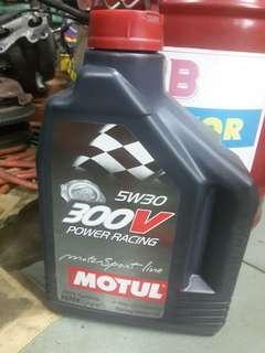 motul engine oil 300v 5w30 2 liter bottle
