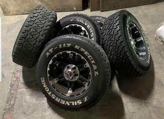 2 pcs Silverstone AT-117 special off-road tyres